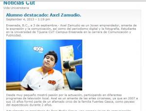 Universidad Cut. Reseña. 2013